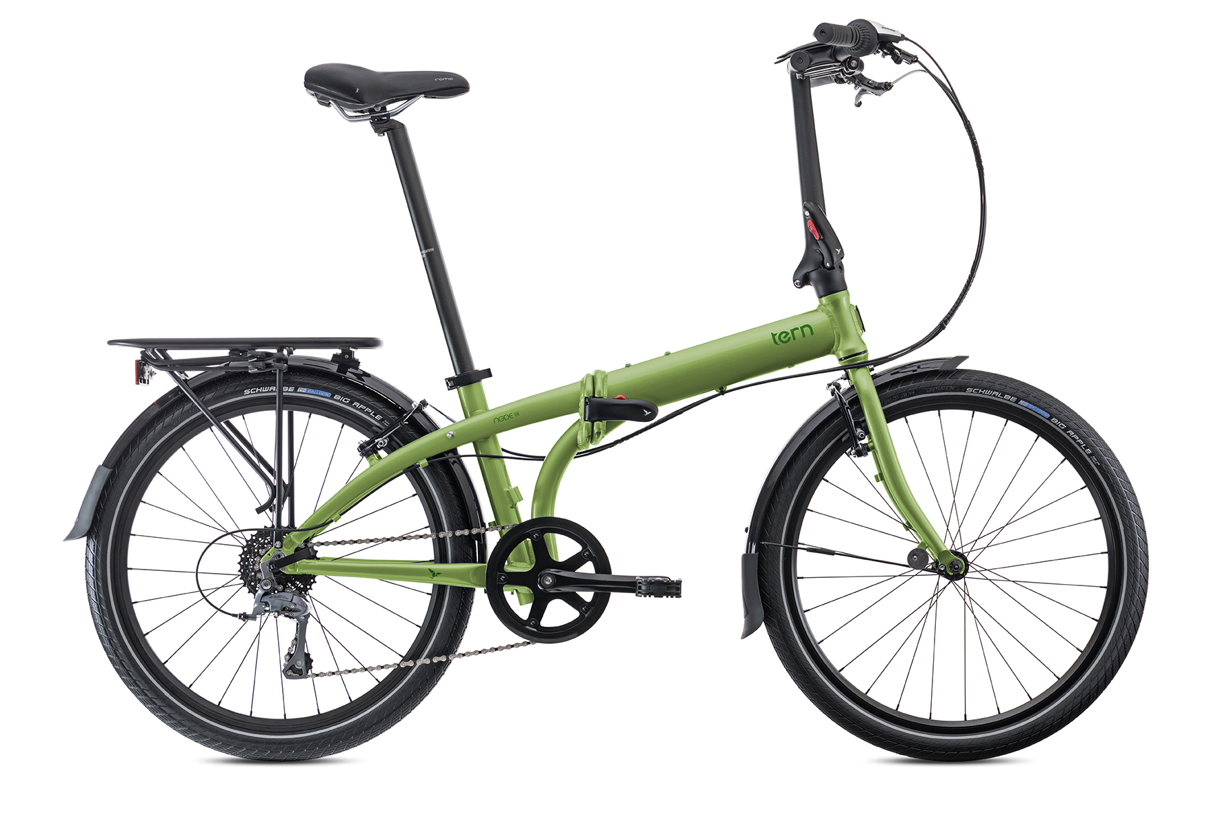 BICICLETA PLEGABLE TERN NODE D8 ROD 24